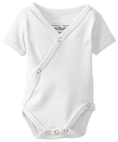 Mac & Mia | L'oved Baby Short Sleeve Kimono Body Suit | Baby Girl Fashion | Baby Girl Summer Fashion | Baby Girl Style